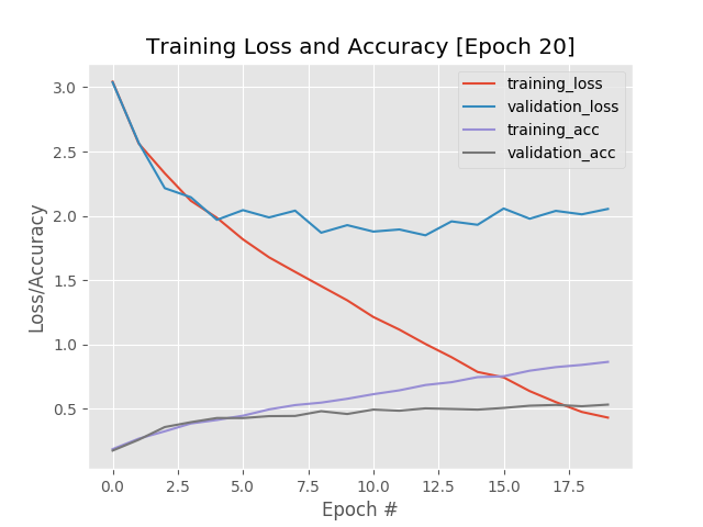 Training a neural network for image classification - W@peTex